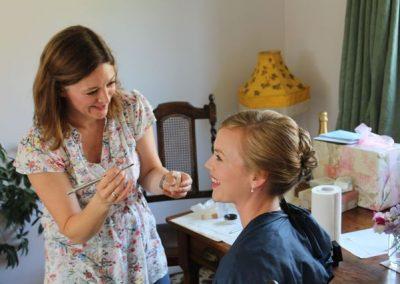 Makeup trial bridal Dorset