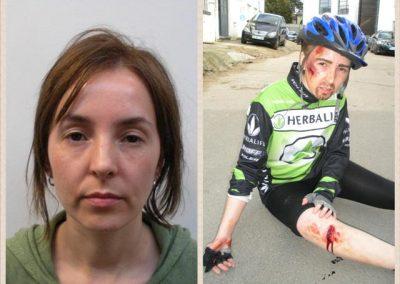 Gender makeup and injuries